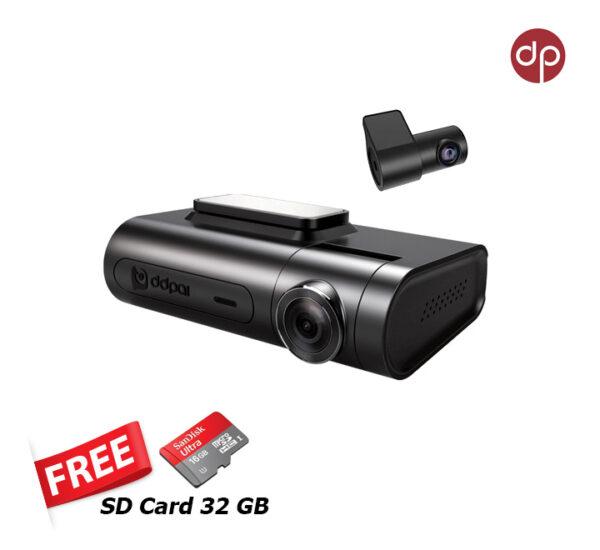 กล้องติดรถยนต์ DP X2 PRO