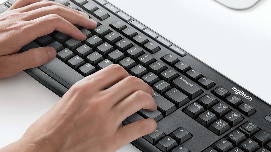 logitech keyboard k200 พิมพ์สะดวก ไร้เสียงรบกวน