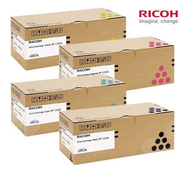 C250s Ricoh ตลับหมึกแท้ Original คุณภาพสูง พิมพ์ชัดสีสันสวย โปรโมชั่นเยอะ