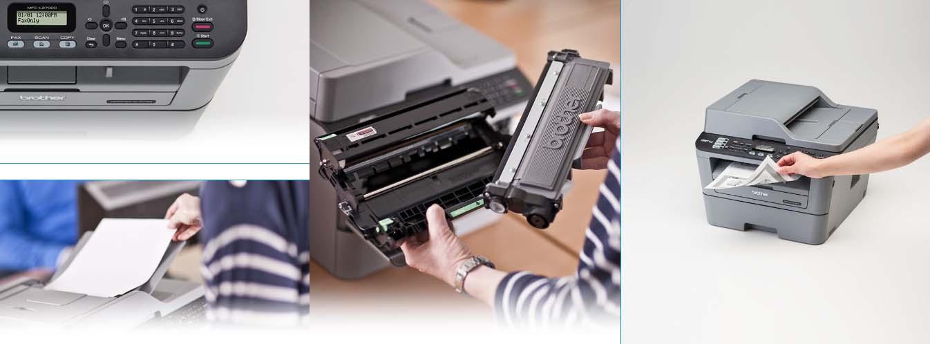 Banner Printer Brother MFC L2700D 2