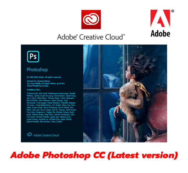 โปรแกรม Adobe Photoshop CC 2020 ลิขสิทธิ์แท้ อัพเดทได้ตลอดเวลา
