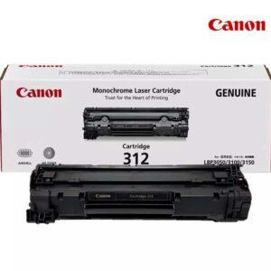 ตลับหมึก canon cartridge 312 Original ของแท้ ราคาไม่แพง