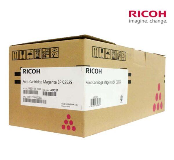 ตลับหมึก Ricoh 407537 Toner รุ่น C252S Original ของแท้ 100% คุณภาพดี