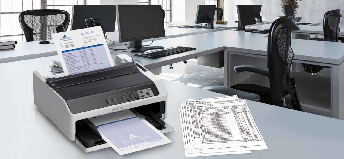 Banner epson lq 590II dot matrix printer