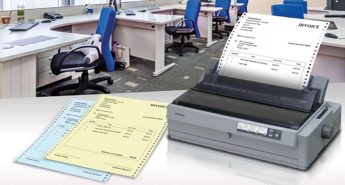 Epson LQ 2190 Dot Matrix Printer Banner