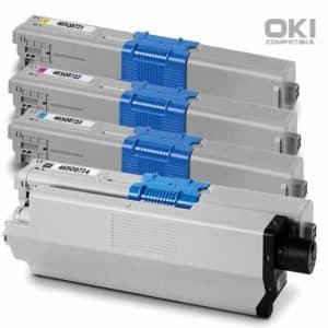 ตลับหมึก OKI 46508724 Toner ราคาไม่แพง มีรับประกัน พิมพ์คมชัด